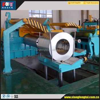 Hot rolling metal high speed vertical cutting machine slitting machine production line