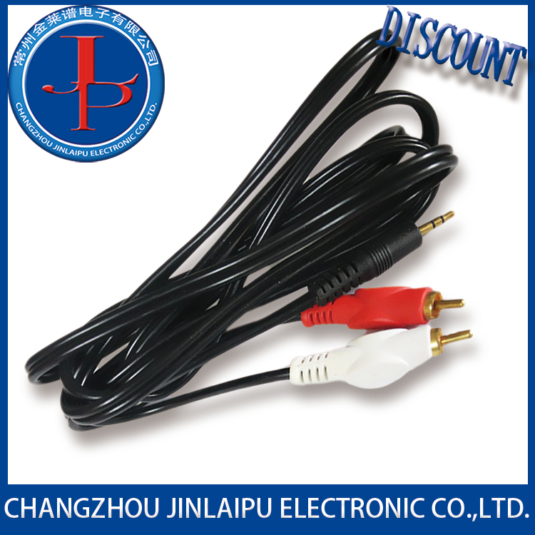 Jinpu 3mm jack aux audio cable With Good After-sale Service