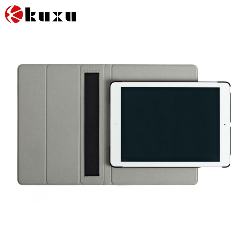 2016 New Business book style pu leather smart cover case for ipad 2/3/4