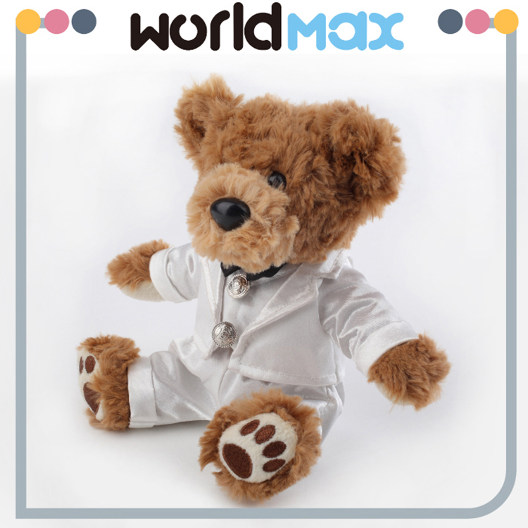 China Supplier Quality Wholesale Custom Stuffed Soft Teddy Bear Plush Doll For Kids