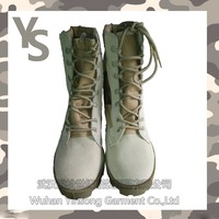 [Wuhan YinSong] High Neck Leather Military Safety Boots For Men