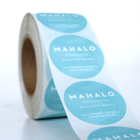 High Quality Custom Self Adhesive Vinyl Stickers Labels Custom Labels on A Roll Printing Labels