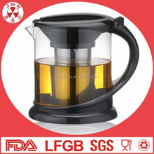 Free sample pyrex borosilicate coffee pot making tea glass teapot