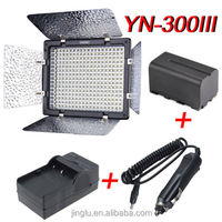 YONGNUO YN-300III LED Video Light + NP-F750 Battery + Charger For Canon for Nikon