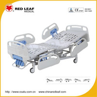 OST-H301R three function manual medical hospital bed patient bed triple crank hospital bed