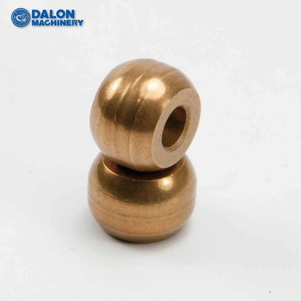 sintered oilite phosphor bronze metal small electric motor ball bushing bearings