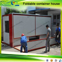 China Chaoqiang Dismountable Folding Cheap Prefabricated House Container