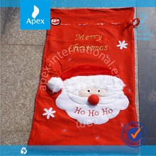 New design promotion drawstring cotton bag for Christmas