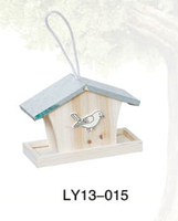 best seller and high quality hanging wooden bird house