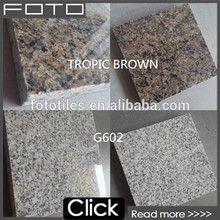 2017 best selling different types White Grey Granite for Stairs