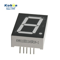 Common anode hot sales 1 inch super red 7 segment single byte led digital display