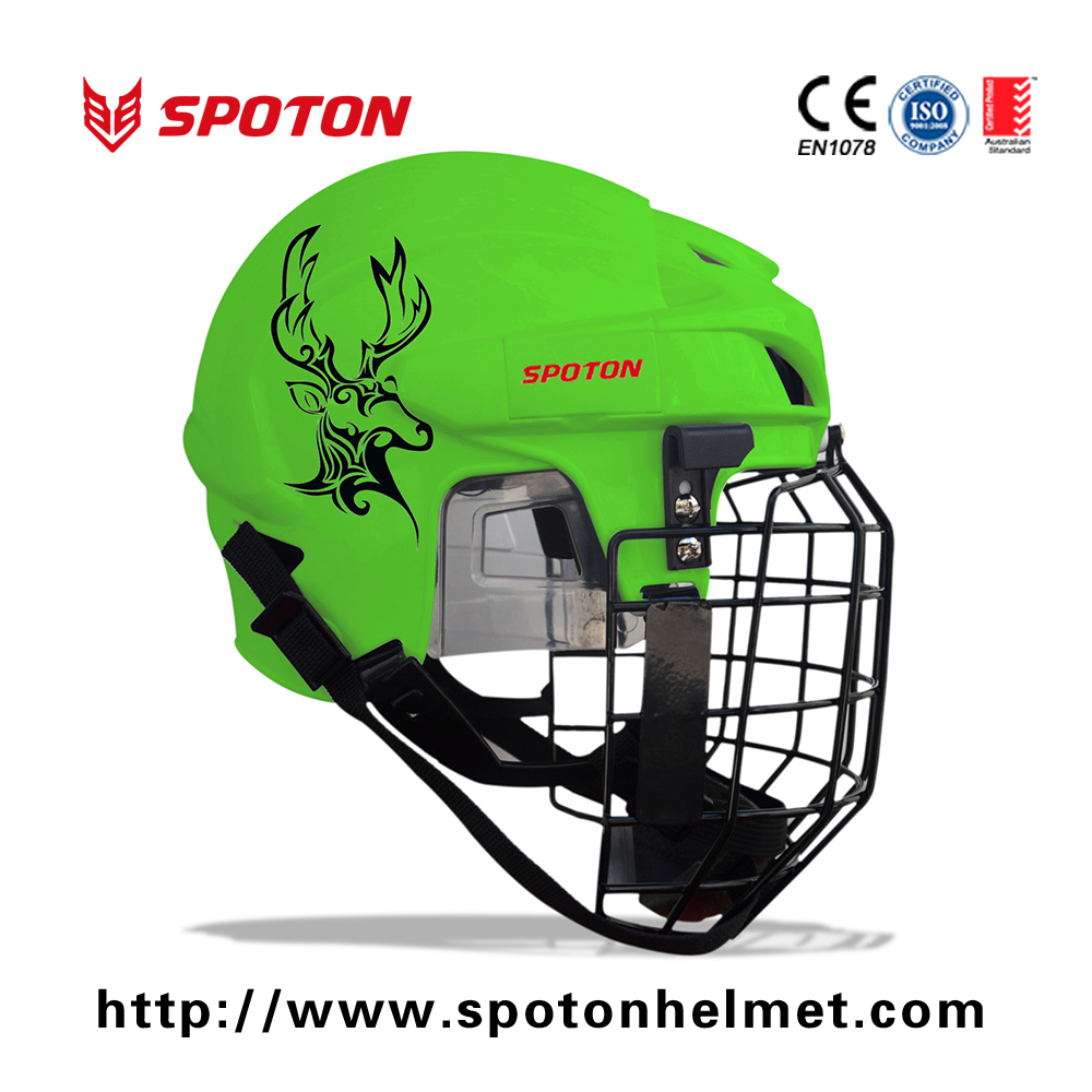 Most Popular 14 Holes Ventilation football helmet with stainless steel face mask