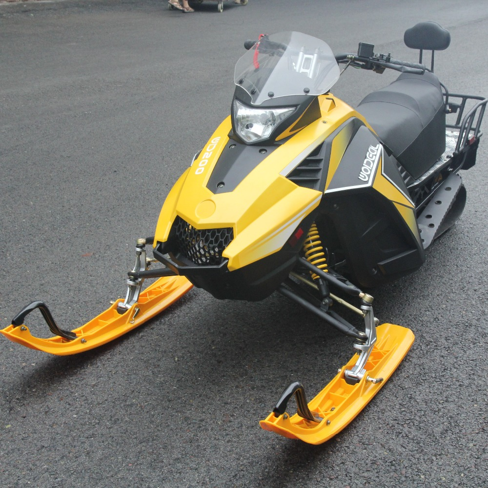 Primary skee learner snow mobile scooter