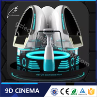Guangzhou Virtual Reality Helmet 9D Egg VR Cinema 9D Motion Chair With 360 Degree Rotating