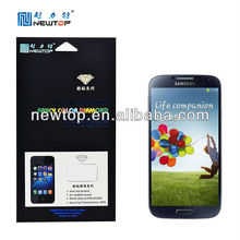 OEM ODM mobile phone fancy diamond screen protector for Samsung galaxy S4 i9500