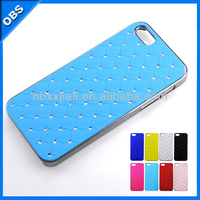 2014 wholesale Fashion Luxury design Bling Bling crystal mobile rhinestone phone case for iphone4 4s