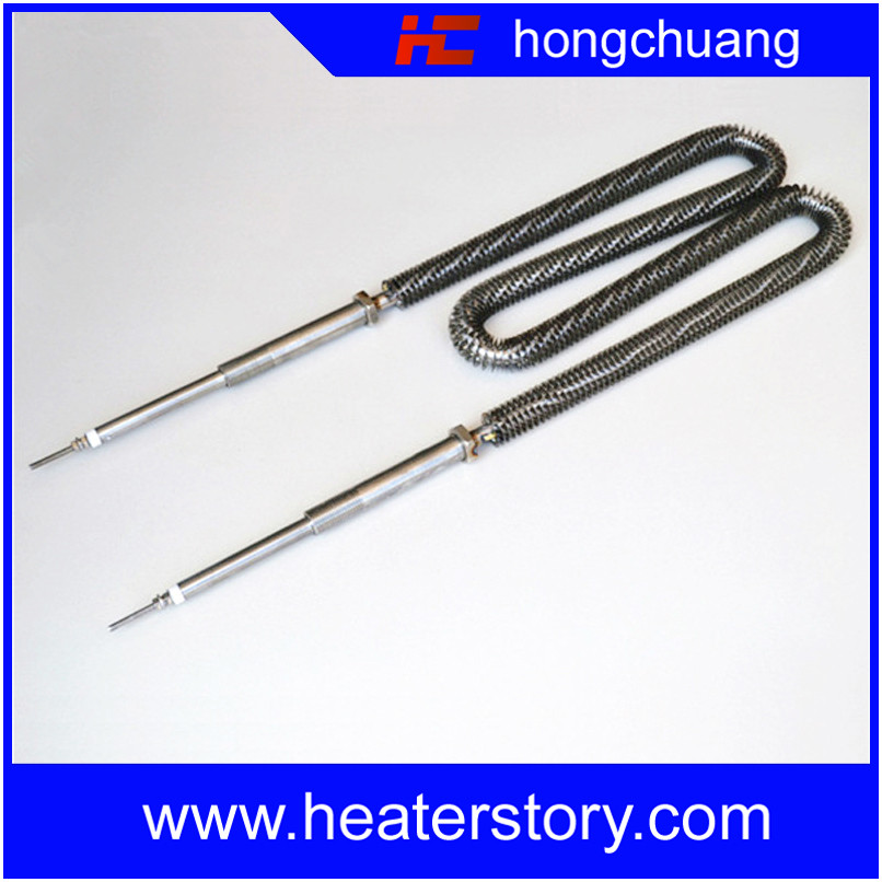 W Shape Extruded Stainless Steel Finned Tube For Cooler
