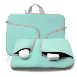 "HOT TEAL Neoprene Soft Sleeve Case Bag for All Laptop 13-inch & MacBook Pro 13"" with or without Retina Display & Air 13"" - HOT T"