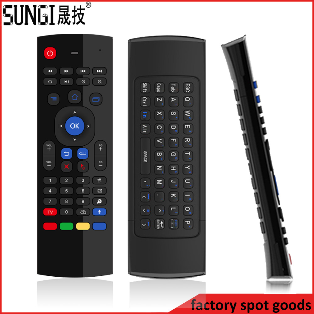 Sungi T3 rf air mouse remote control for smart tv samsung