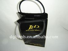 2012-Stand up bags with Portable Hook wine packaging bag