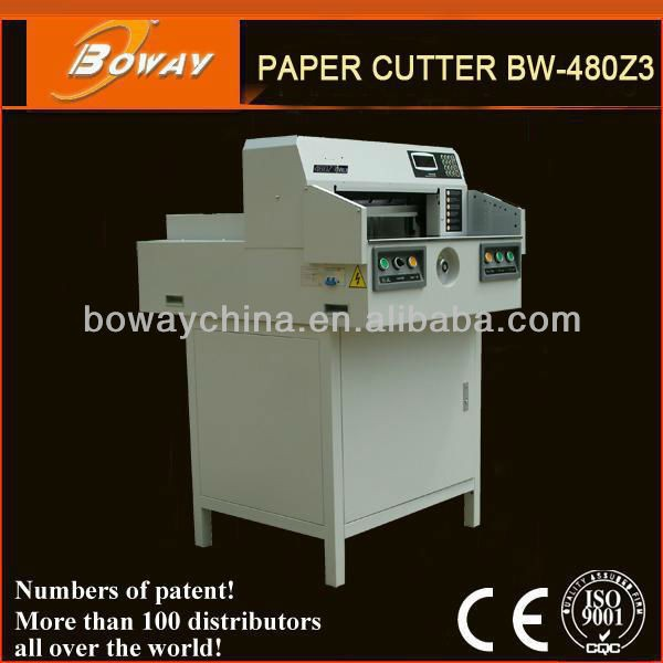 National Standard Drafter boway 480z3 programmed electric paper cutter office equipment and supplies china