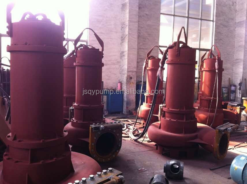 QW Large/Big Capacity Non-clogging Centrifugal Submersible Sewage Water Pump