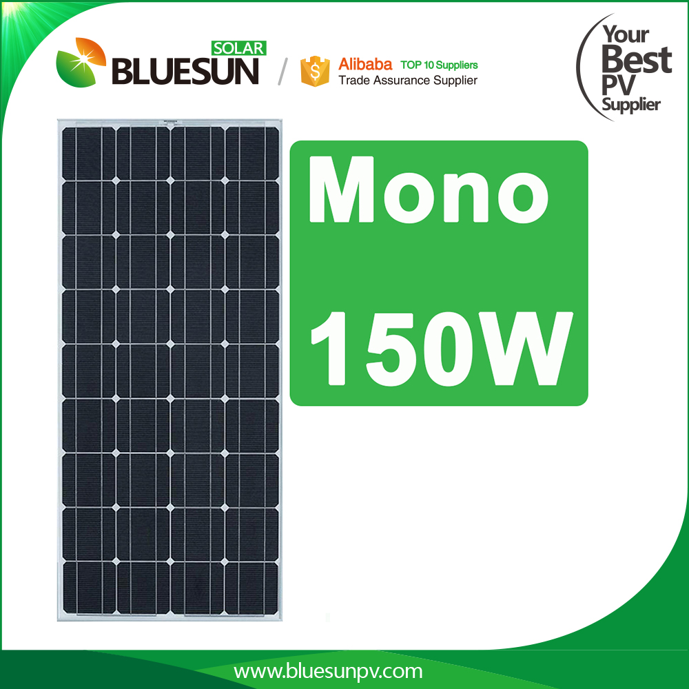 High quality sunrise 150w 12v solar panel 12v 24v photovoltaic panels
