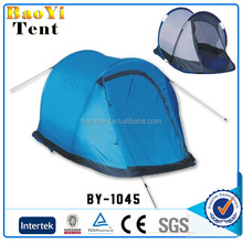 Double layer waterproof family camping pop up tent