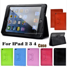 waterproof ipad2 case 360 Rotating leather tablet case Screen Protector+Stylus Cover for Mini 1 2 3 / Air 2