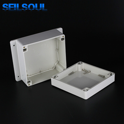 Factory Directly Supplied 160x161x90 Square IP65 Waterproof Electrical Terminal Cable Junction Boxes