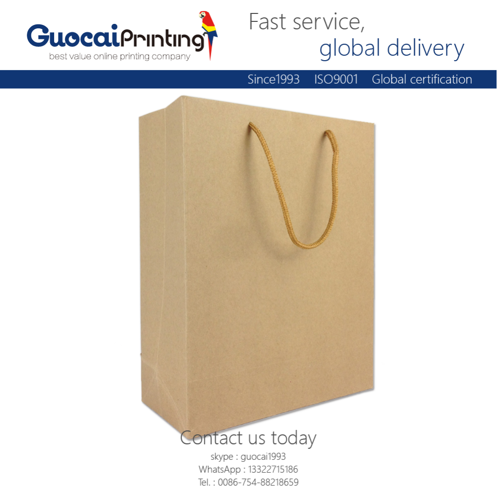 Quickly Delivery Customized Gift Brown Kraft