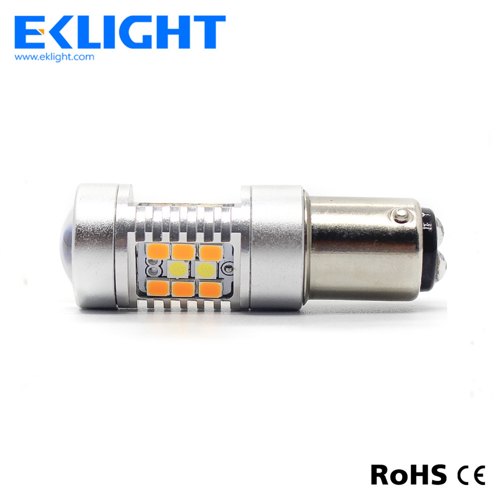 1157 led 2835 3030 SMD switchback 12 volt automotive led lights bulb