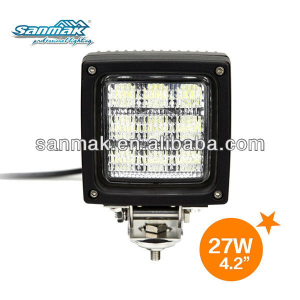 27w off road led lights for 250cc racing off brand atvs SM6274