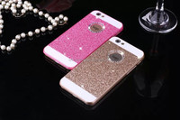 Luxury Bling Crystal Diamond Hard PC Cover Glitter Mobile Phone Case For iPhone 5/5S