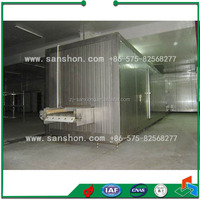 Sanshon Industrail SSD Model Fruit, Vegetable, Prepared Food Tunnel Blast Freezing machine