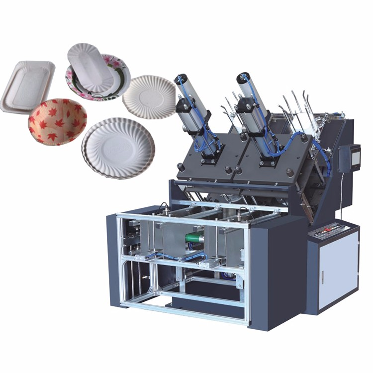 Ce Automatic With Low Price Automatic Paper Plate Making Machine
