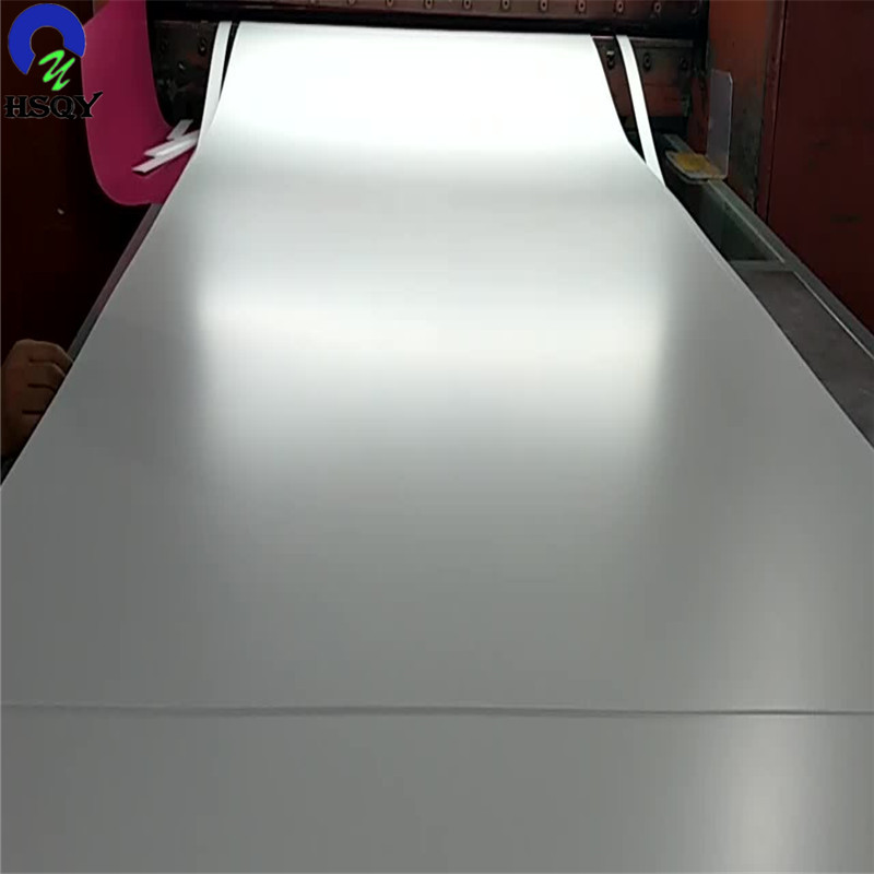 Opaque Color White Glossy PVC Sheet For Playing Cards