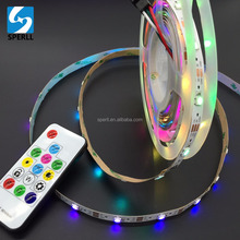 WS2812B SK6812 SMD RGB 5050 Individual Addressable Full Color Pixel LED Strip 30/60/144 LEDs/m