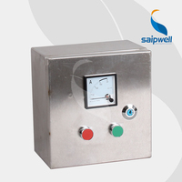Saip Saipwell CE Certificated Custom OEM ODM Stainless Steel Control Box Best Price Electrical Project Control Panel Box