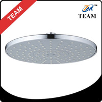TM-3008 rainfall Plastic ABS chrome top shower head bathroom accessories
