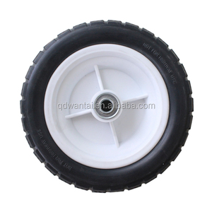 qingdao wantai 7 inch pneumatic small rubber wheels wheelbarrow wheels