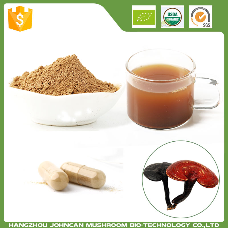 Hot Sale 100% Pure Natural Powder Form Organic Ganoderma Lucidum