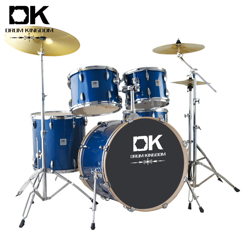 Big size good design 4 piece professional drum set