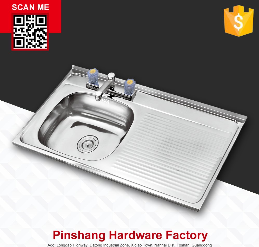 stainless steel sinks PS10050L