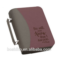 Customized Design Leather Book Cover Bible