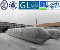 Vessel Launching rubber airbag for ship