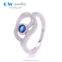 Silver Rings With Stone Wholesale 925 Sterling Silver Jewelry