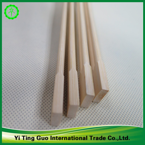 Cheap natural 21cm twins bamboo chopsticks in paper cover with high quality