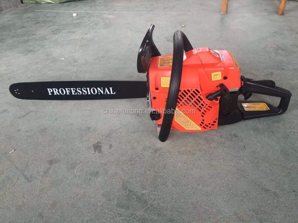 Competitive price good quality 52CC gasoline chain saw hot selling in middle east market