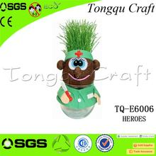 Cheap christian gifts grass head doll toy christening gifts , branded goods